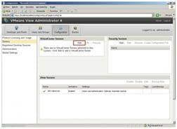 VMware View Administrator