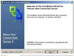 VMware_View_intall_wizard Capítulo  1: View 4 Connection Server