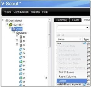 vScout inventory