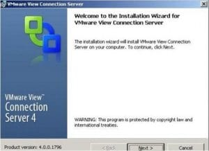 VMware view high availability