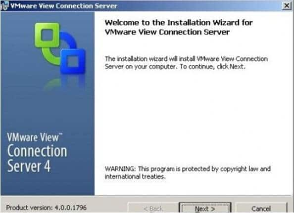 VMware_view_high_availability Capítulo 2: Instalación de Conexión Server Réplica