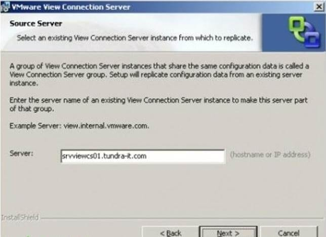 VMware_view_high_availability6 Capítulo 2: Instalación de Conexión Server Réplica