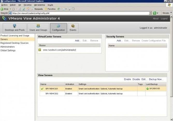 VMware_view_high_availability9 Capítulo 2: Instalación de Conexión Server Réplica