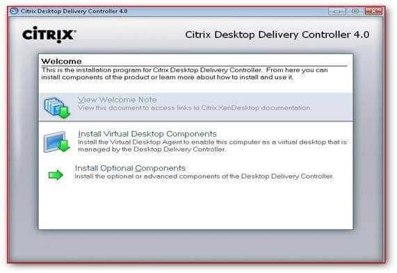 XenDesktop Delivery Controler