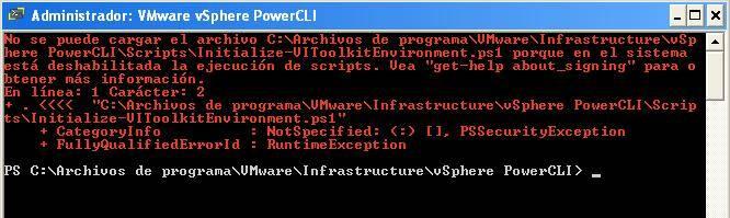 VMware vSphere vCLI
