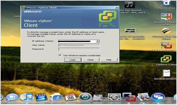 Citrix Dazzle vSphere Client para MAC