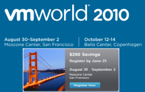 VMworld 2010 San Francisco, and the winners are ...