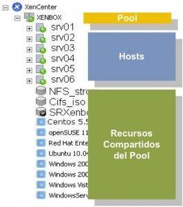 ¿Cómo crear Pools en Citrix XenServer?
