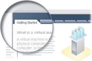 Getting Started Pestaña vCenter Blog Virtualización