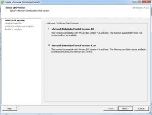 Diferentes tipos de virtual switch en VMware vSphere 5
