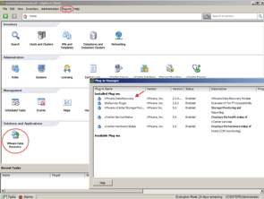 VMware Data Recovery: Plugin de vCenter para hacer backups