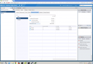 Cambia los recursos en VMware desde el Resource Allocation