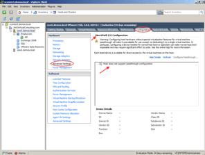 vSphere y la funcionalidad VM Direct Path I/O