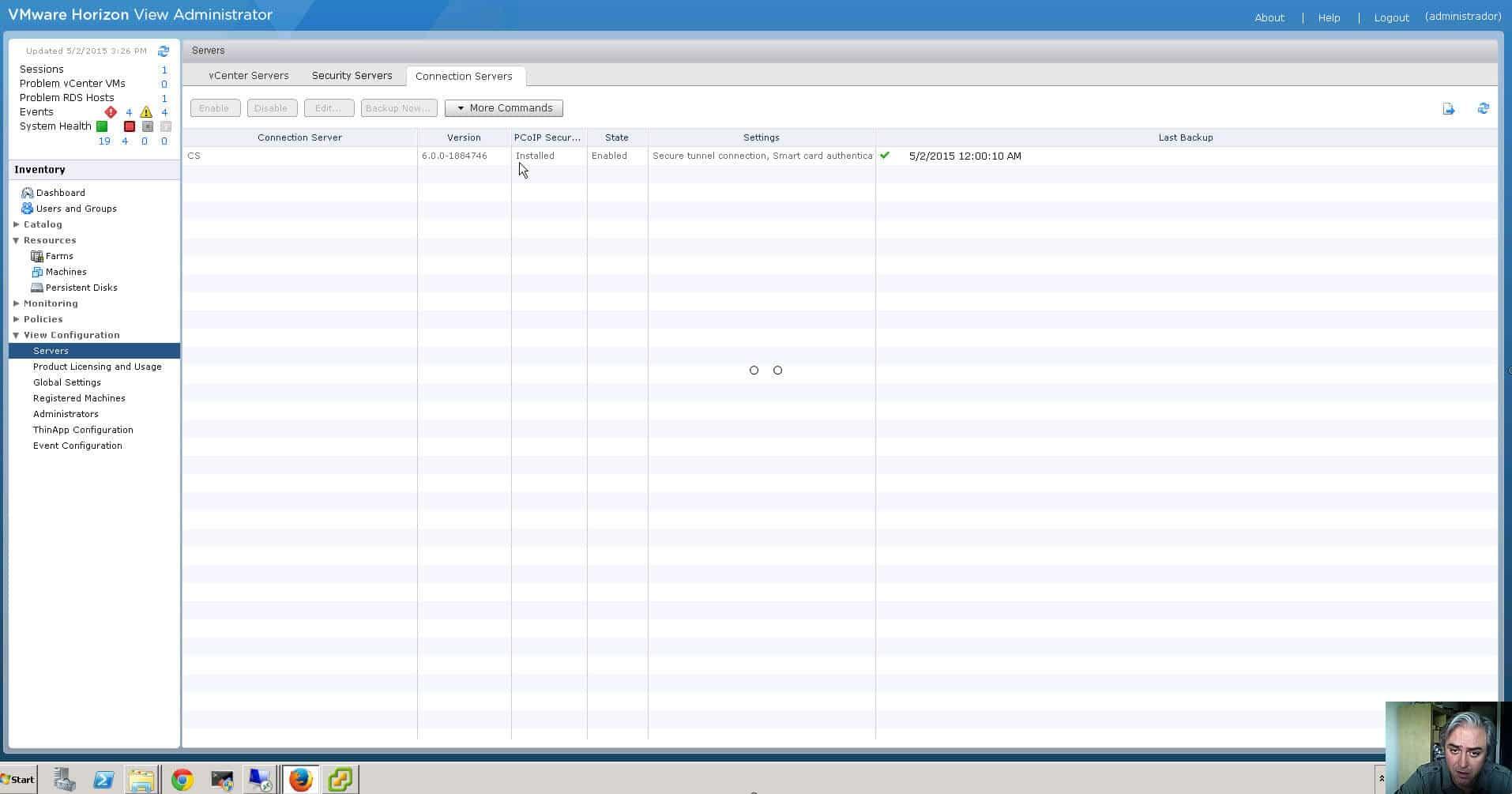 ¿Cómo actualizar VMware View Horizon de versión?