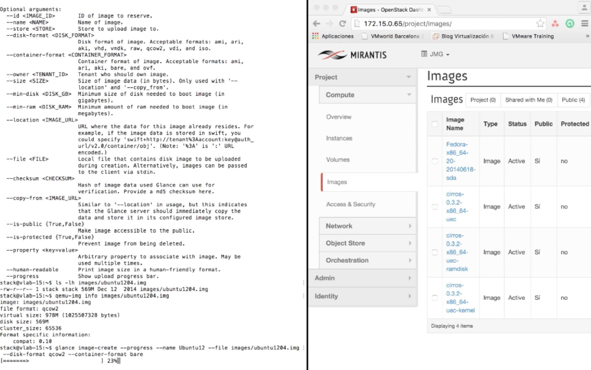 ¿Como instalar OpenStack? n.º 4 Glance Client