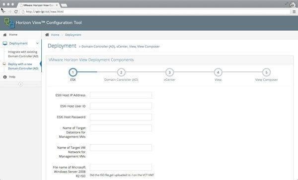 Horizon View Configuration Tool v 2.0 un salto hacia el futuro
