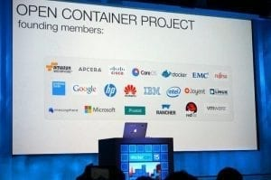 Logo Docker Open Container Project