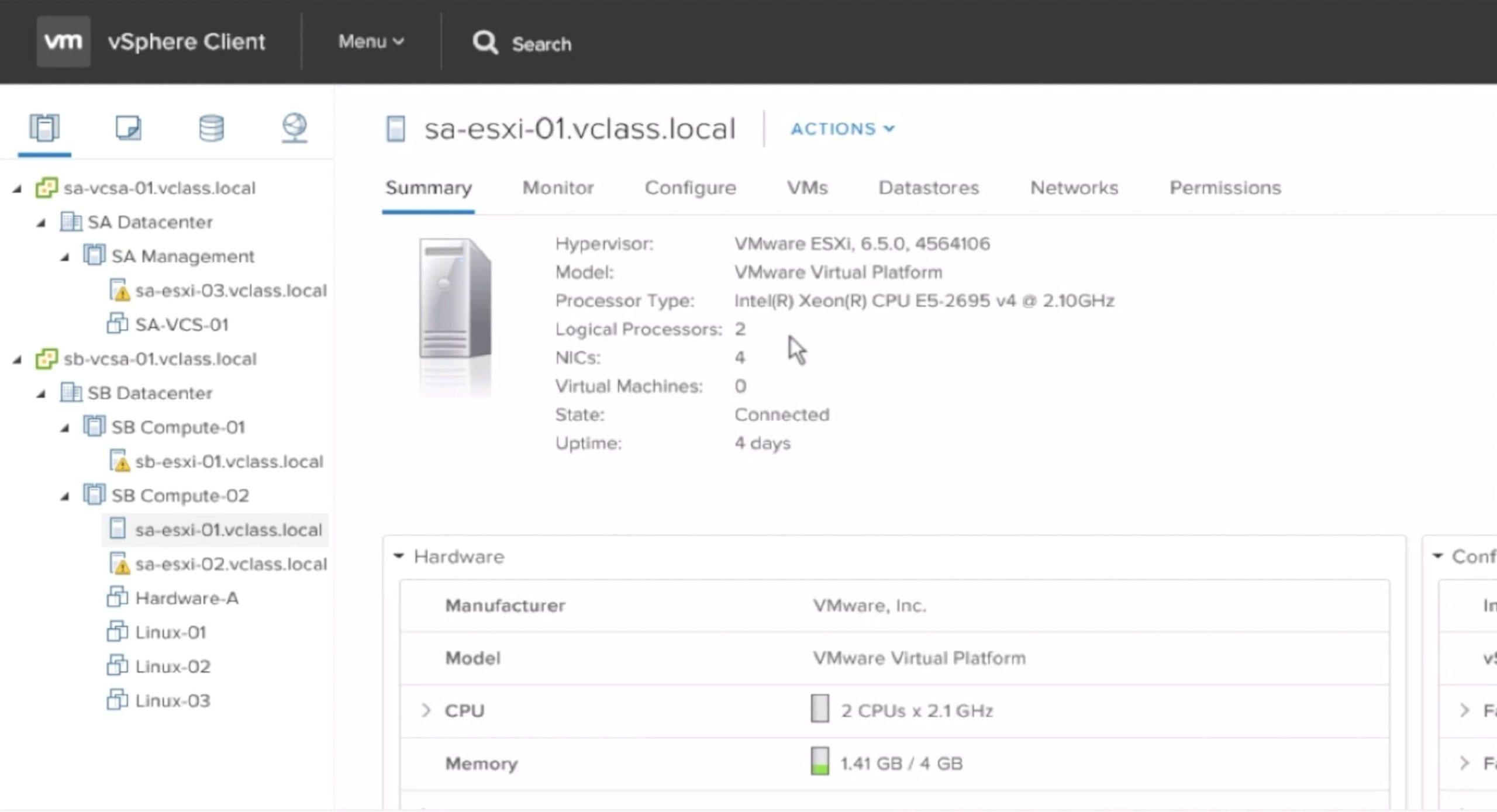 ¿Cómo hacer un backup de VMware vCenter Server Appliance 6.5?