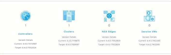 Lo nuevo de NSX 6.4.0 y Actualizar en 1 click