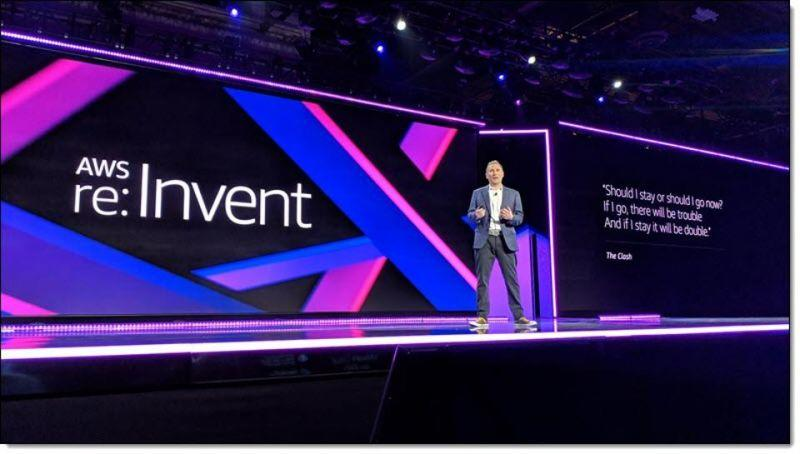 Amazon Re-Invent Logo